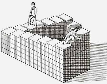 бесконечная лестница