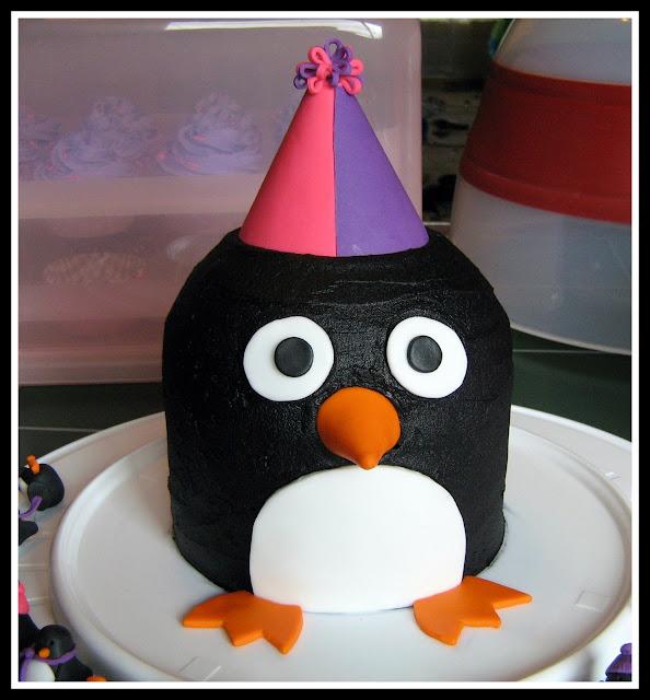 How To Make Pingu Birthday Cake