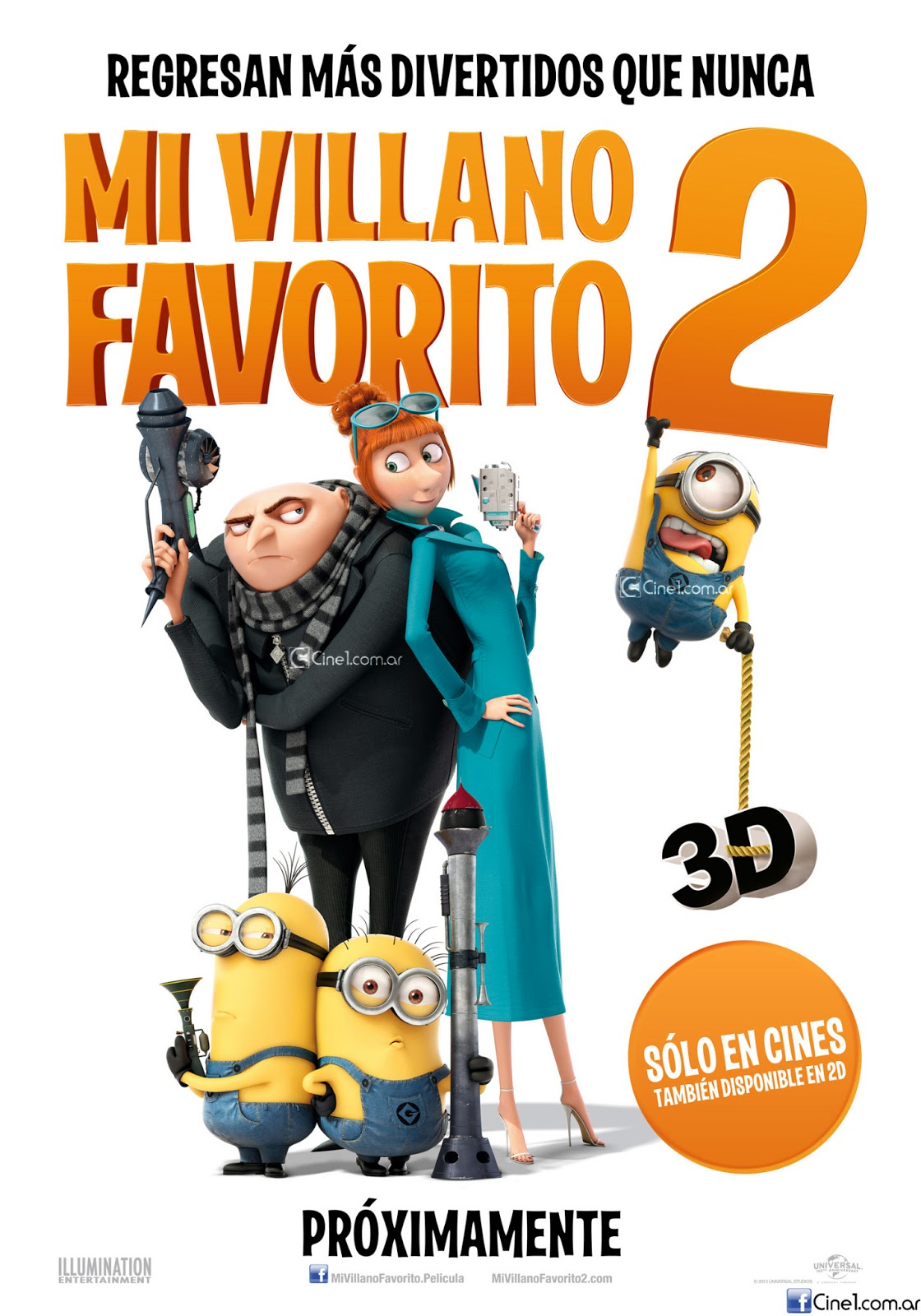 Gru   Mi villano favorito 2 (2013) online (HD)