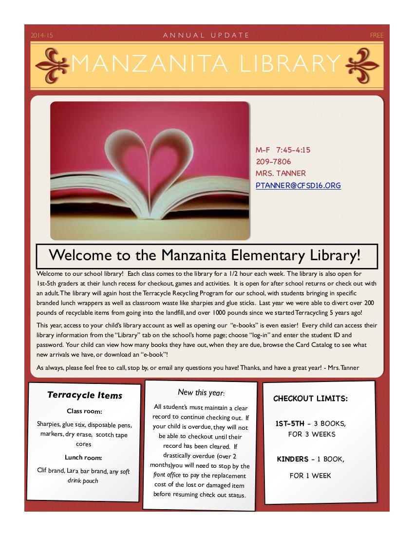 http://www.cfsd16.org/schools/manzanita/PDF/mzmessengerPDF/library.pdf
