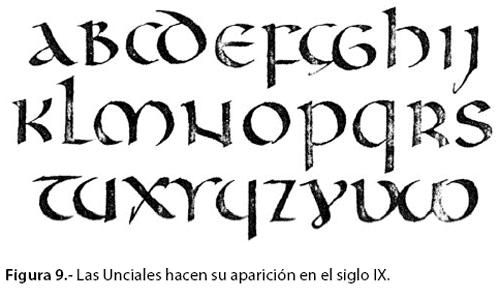 fuentes letra antigua: