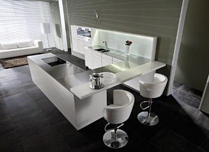 Formas almacen de cocinas enero 2012 for Barras para comedor