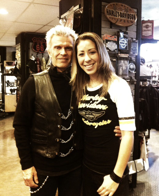 Take three with a rebel yell she cried more more more i recently had the opportunity to meet 80s rock god himself billy idol what a great guy really nice and down to earth what a great experience m4hsunfo