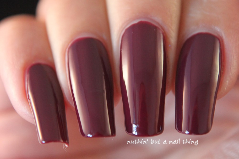 nuthin\' but a nail thing: Kiko Poker Nail Lacquer - Intuition Wine