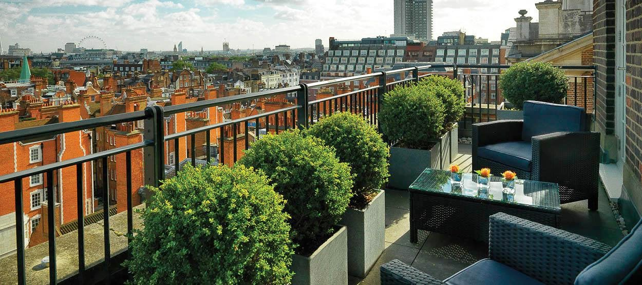 Luxury hotels jumeirah lowndes hotel london for Terrace hotel london