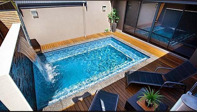 kolam renang dalam rumah 6
