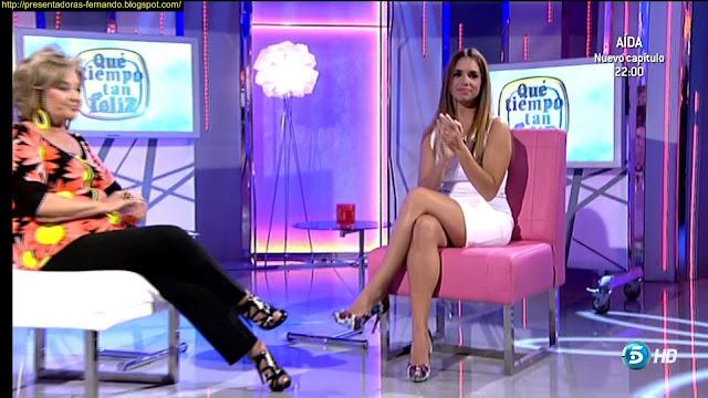 Elena Furiase piernas