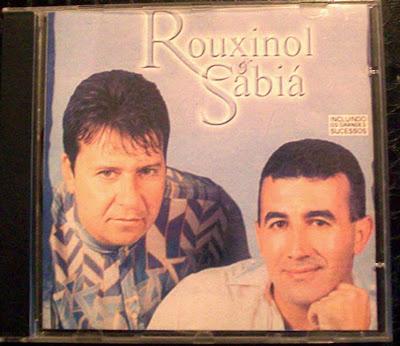 1º CD da Dupla: Claudio (Rouxinol) e Edmilson (Sabiá)