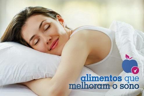 Alimentos que melhoram o sono