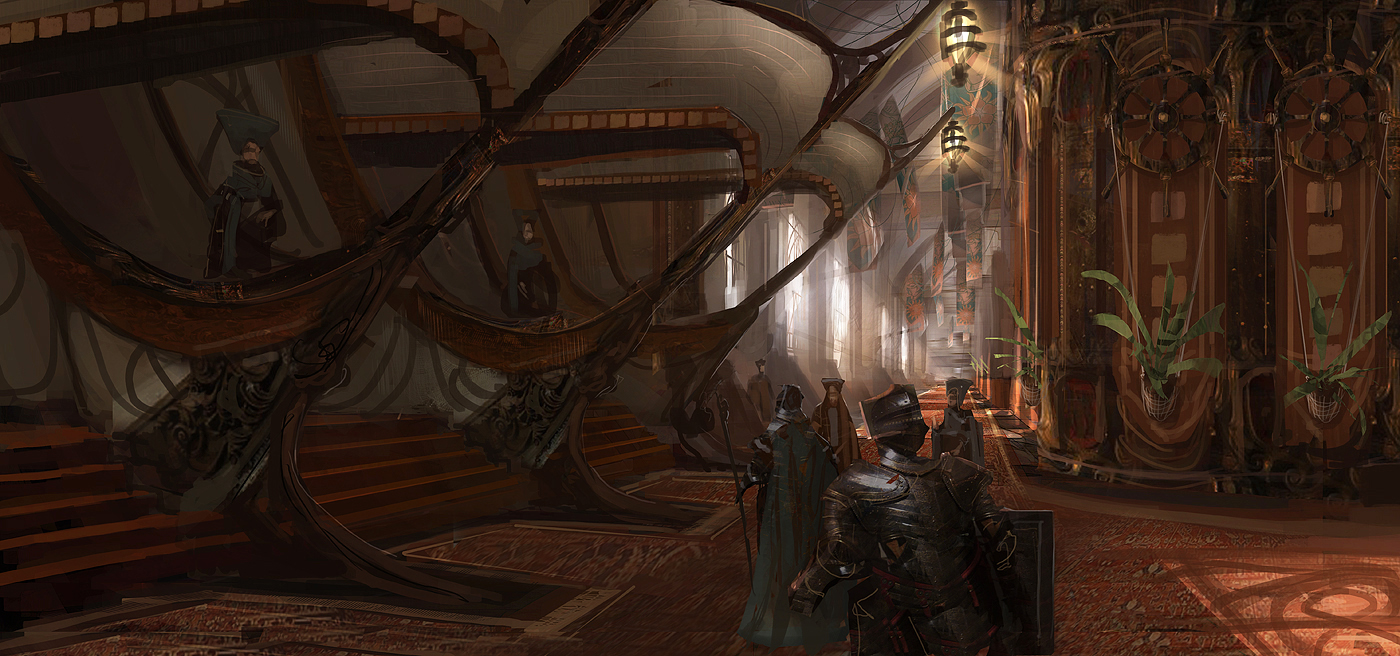 The art of levi hopkins gw2 lionsarch interior and for Light house interior