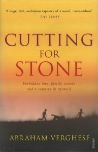 UK cover for Cutting for Stone
