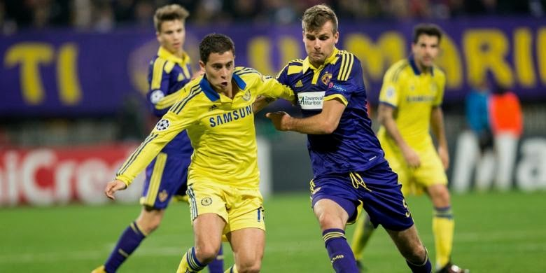 Liga Champions : Maribor vs Chelsea 1-1