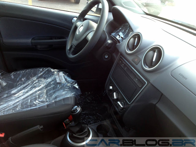 Novo Gol G6 2013 Power Branco - interior