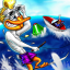 waterski duck icon