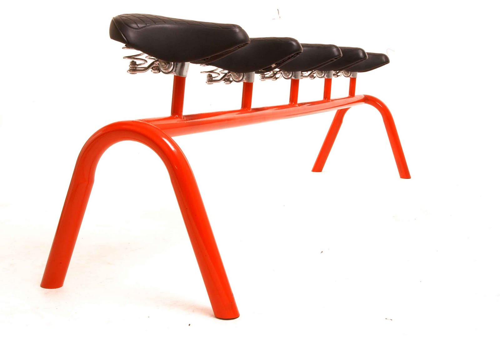 for the love of bikes: saddling up - bike seat meets furniture