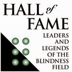 Hall of Fame for the Blindness Field logo