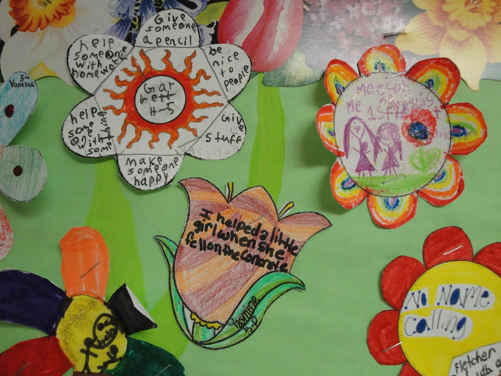 Garden Bulletin Board Ideas School counselor blog school counselor spotlight kindness garden workwithnaturefo