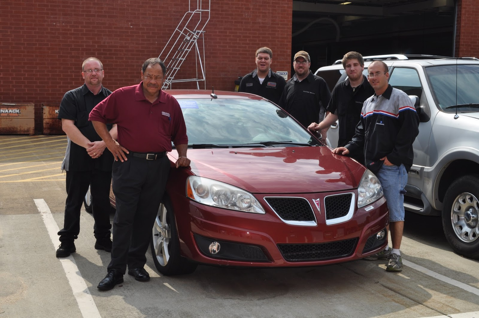 Campus happenings general motors donates vehicles to j for General motors vehicle purchase program