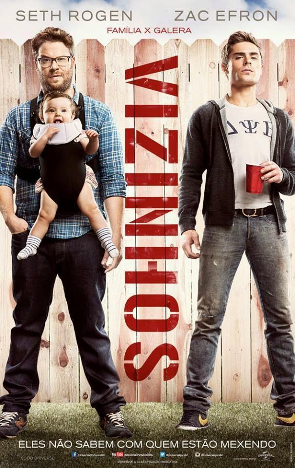 Pôster/capa/cartaz nacional de VIZINHOS (Neighbors)