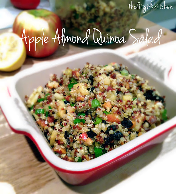 Apple Almond Quinoa Salad inspired by Whole Foods