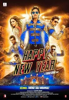 Happy New Year poster watch online full movie free download hd 2014.