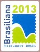 BRASILIANA 2013 Logo ( I )