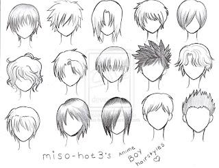 Draw Anime Hair Boy