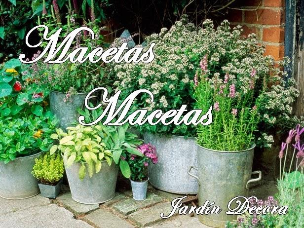 Macetas en Jardín Decora