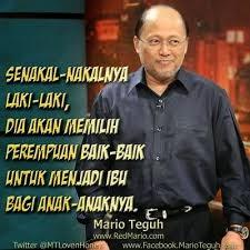 Mencari Jodoh Ala Mario Teguh