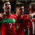 Portugal foi derrotado no jogo de estreia do Europeu'2012