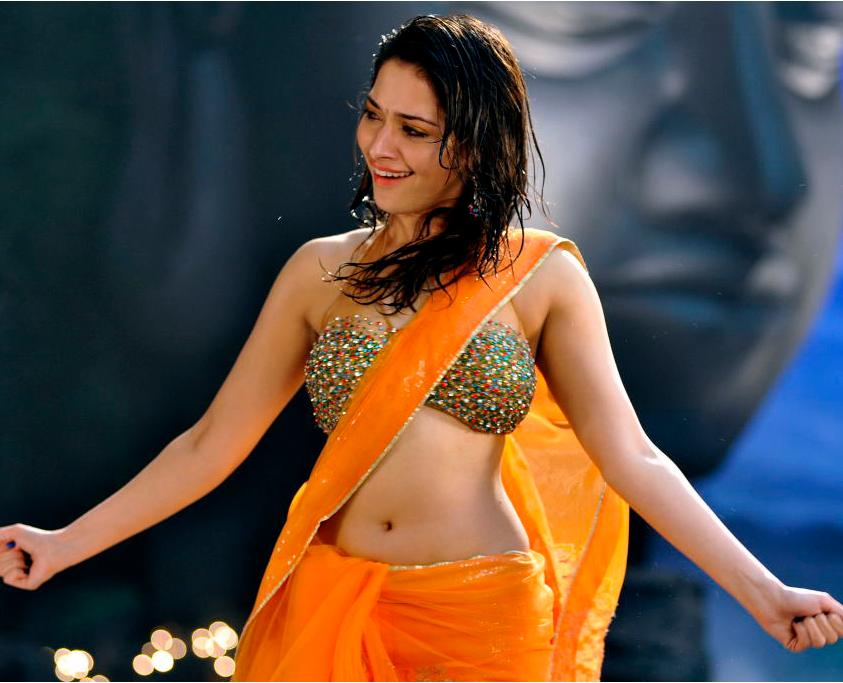 Bhatia's Latest Racha Movie Stills | Tamanna Bhatia's Hot in Saree ...
