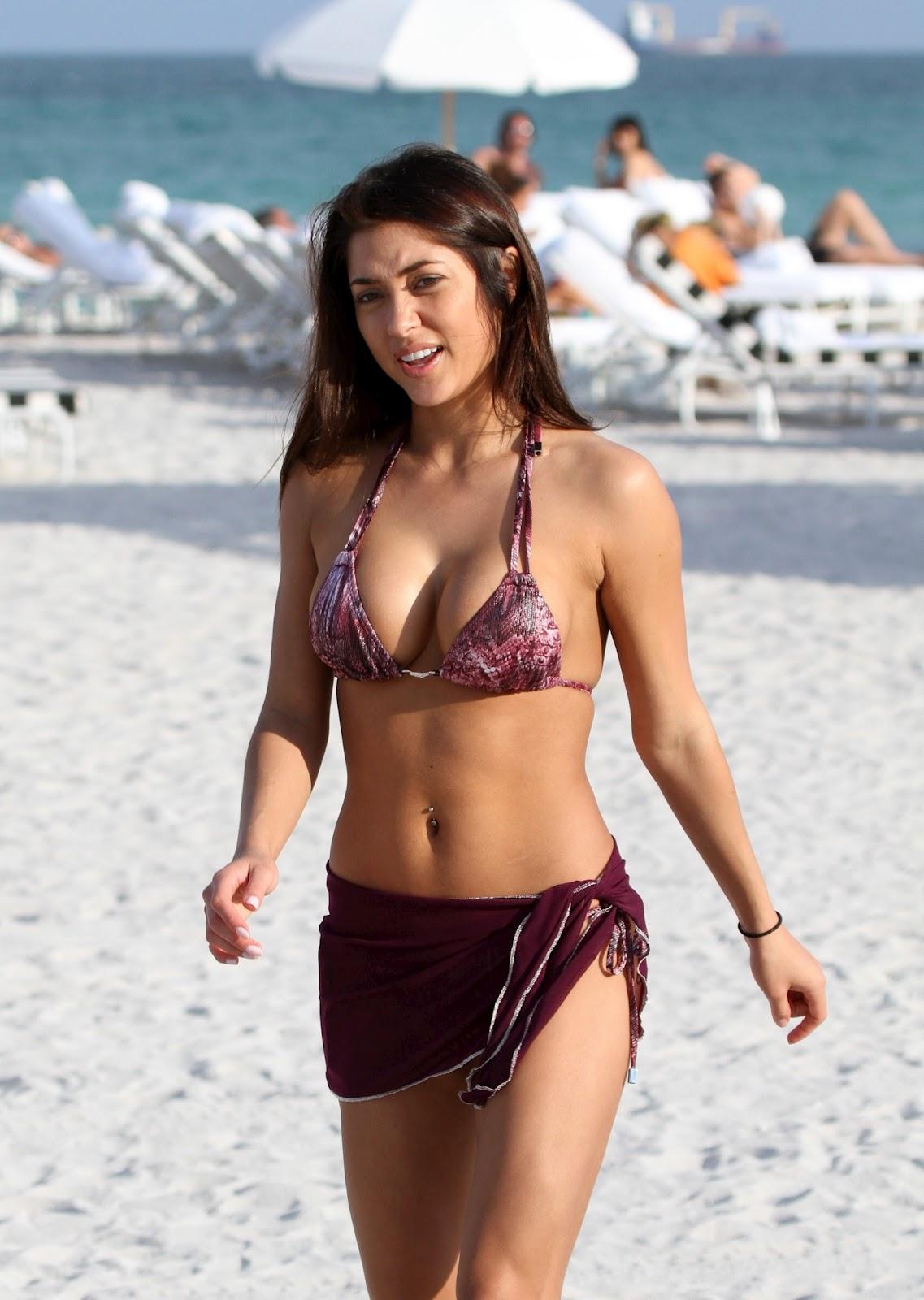 bikini Arianny celeste