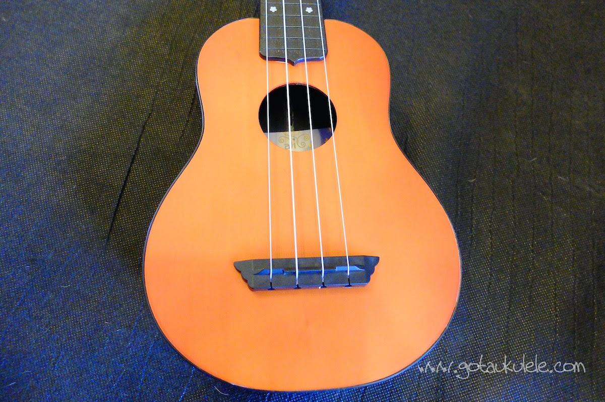 Alic Soprano ukulele body