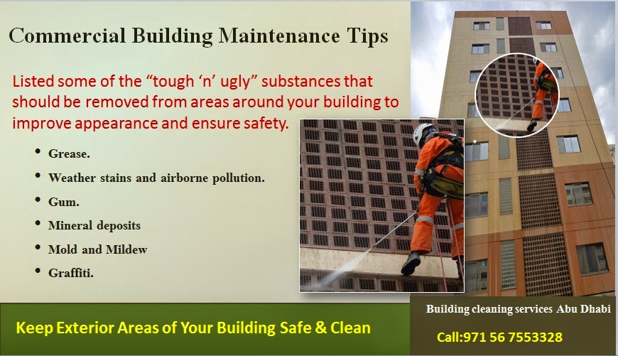Building Maintenance Companies : Rope access