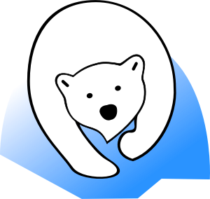 polar bear image courtesy of openclipart.org