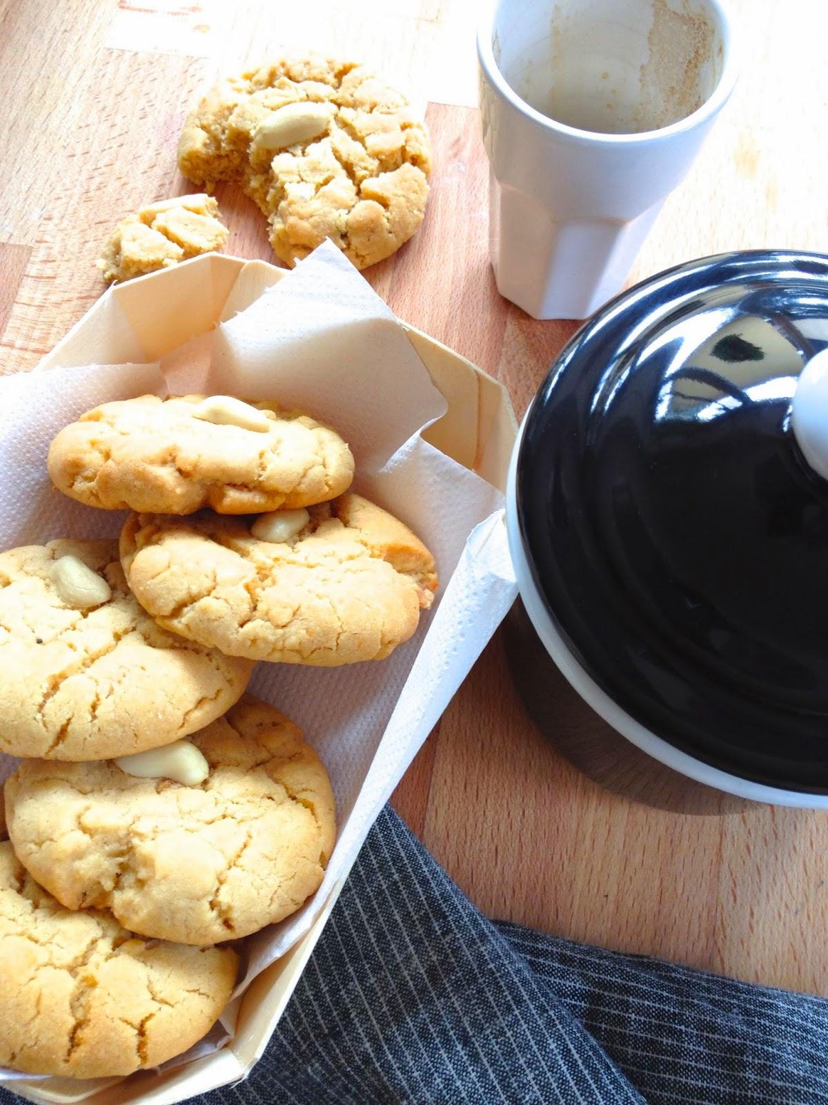 Les gouts changent cookies au beurre de cacahu te - Cookies beurre de cacahuete ...