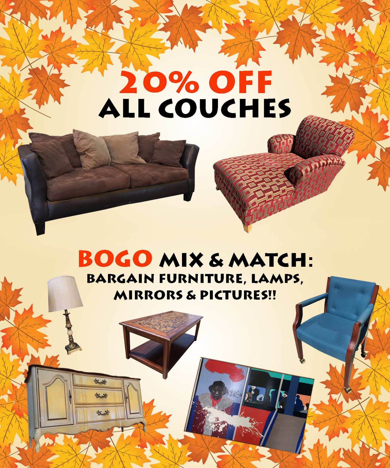 PRICES ARE FALLING @ Uhuru Furniture!