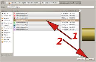 Buscar panil 3d para poner en ubuntu