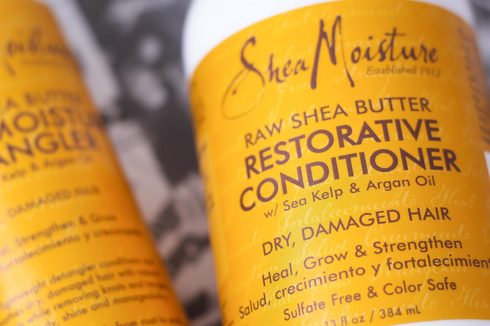 Shea Moisture Raw Shea Butter Restorative Conditioner
