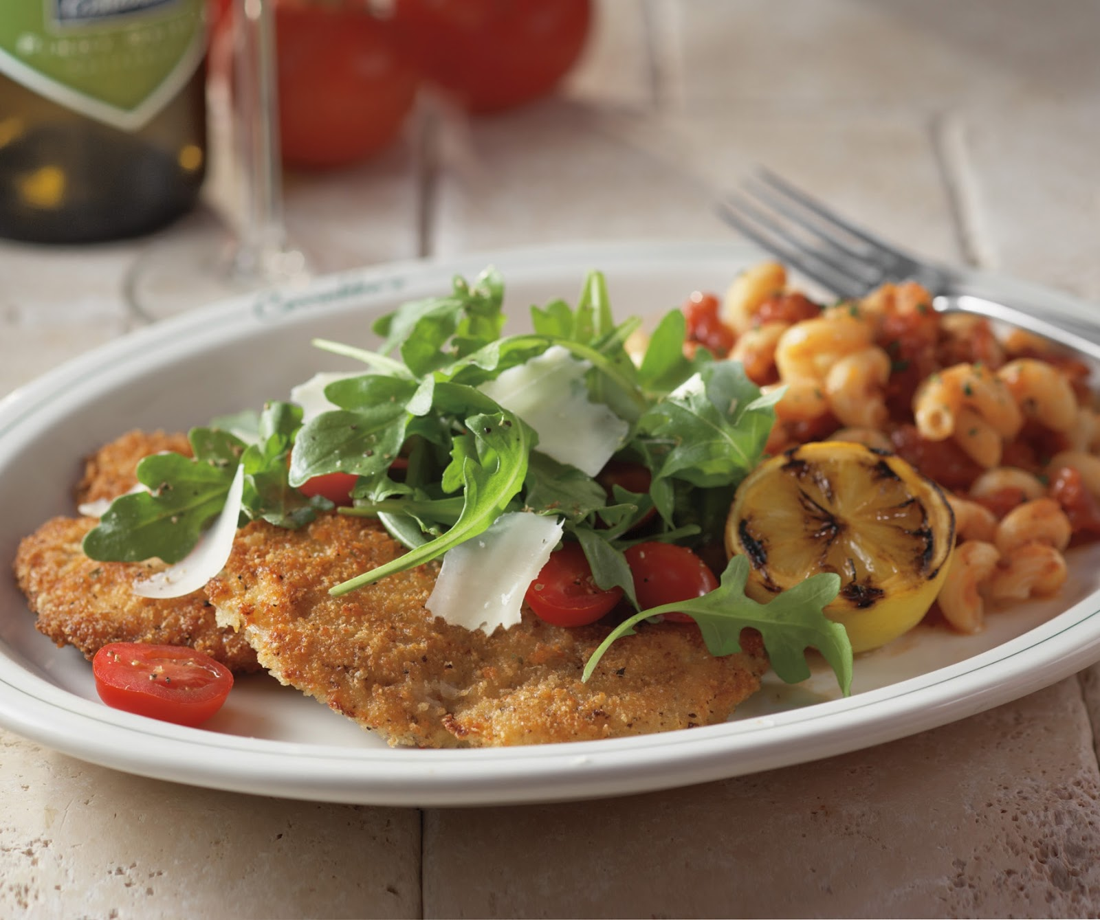 carrabba's italian grill copycat recipes: parmesan crusted chicken