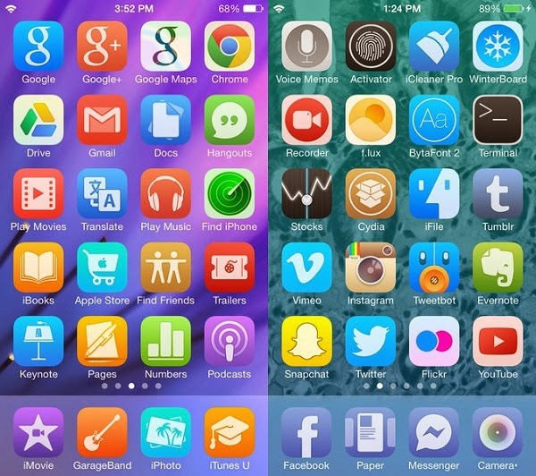 Best iOS 8 Cydia Theme