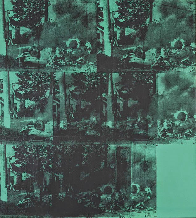 Andy Warhol Green Car Crash