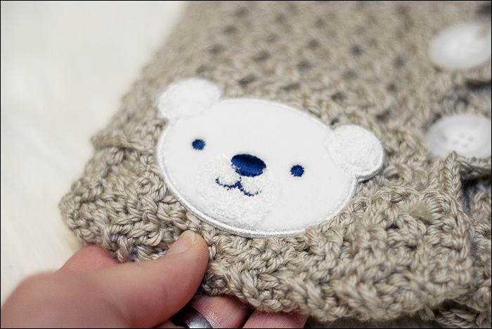 Häkeln, Crochet - Baby Jäckchen
