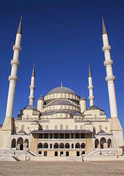 مسجد كوكاتيب أكبر مسجد في أنقرة