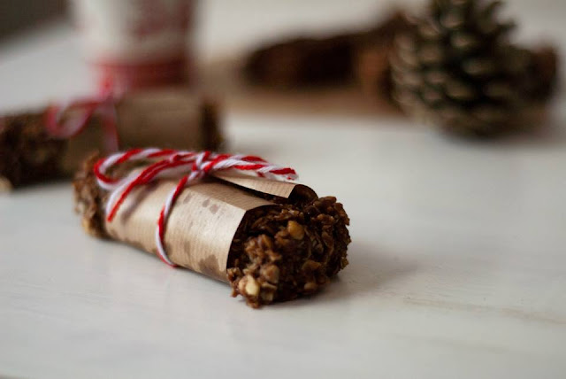 healthy, gift, edible, christmas, peanut, butter, food, oat, bar, recipe, blog, blogger, uk