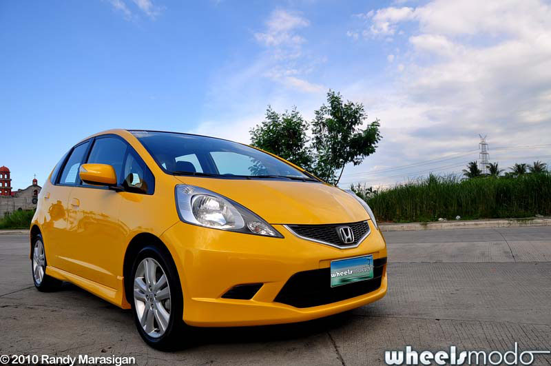 Best car wallpaper honda jazz yellow special
