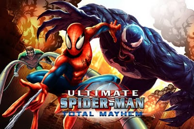 Ultimate Spiderman Total Mayhem