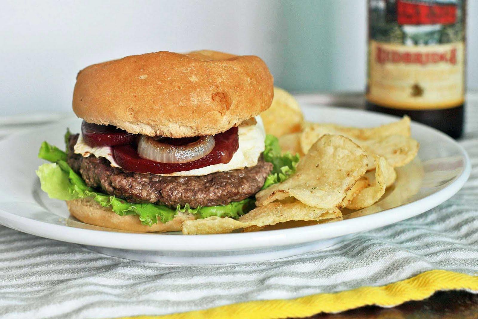 Aussie Beet Burger | Girl Cooks World