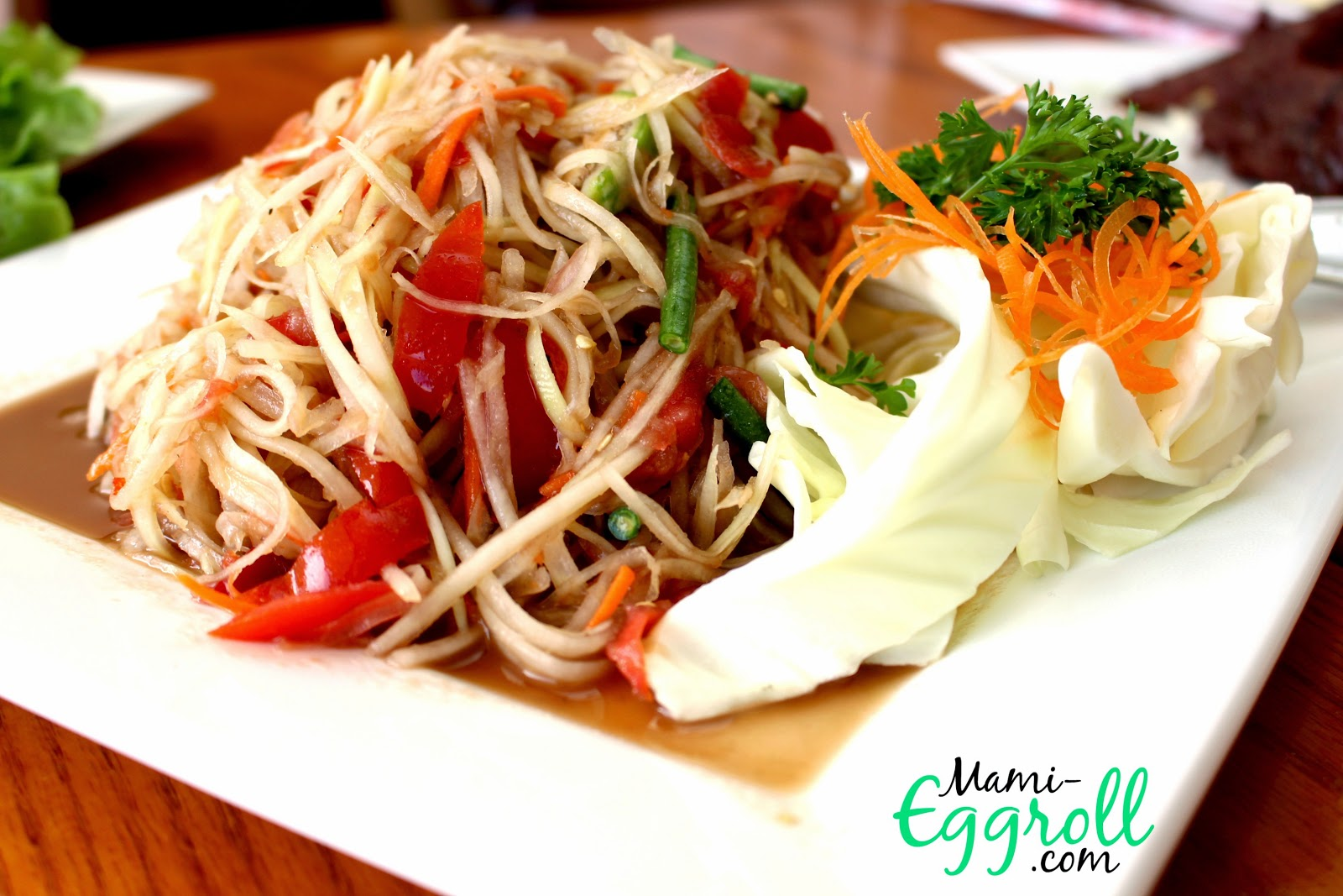 Mami eggroll new thai and lao cuisine at lanxang star for 7 star thai cuisine