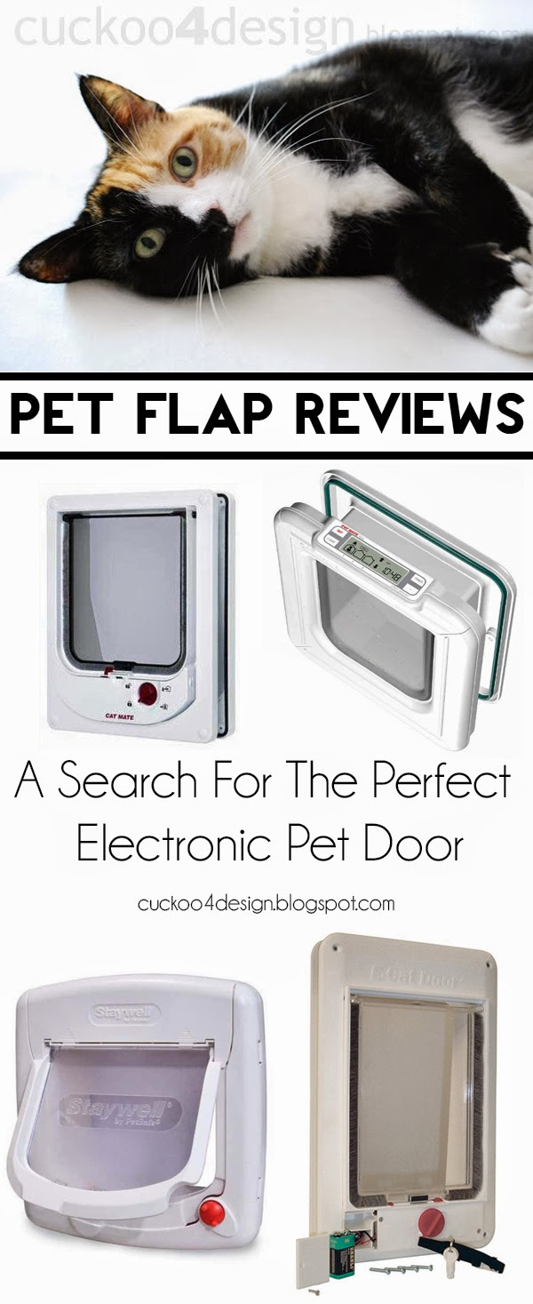 electronic locking cat flap door reviews